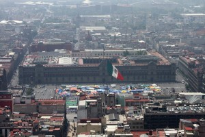 Aerial Photo of Mexico City from Torre De LatinAmerica