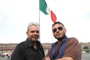 Renzo & Moses in El Zocolo