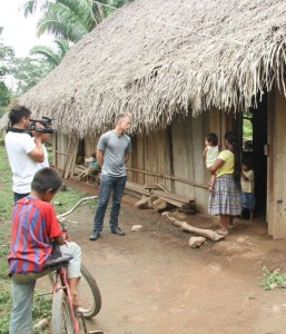 Visiting Leticia's farm in remote Belize with SHI