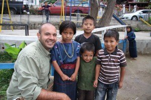 Producer Renzo with some cool Lago Atitlan village kids