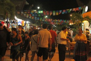 Playa del Carmen @ night