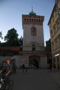 Centuries Old Wall in Krakow's Olde City