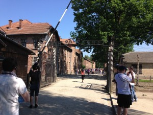 Entry to Auschwitz
