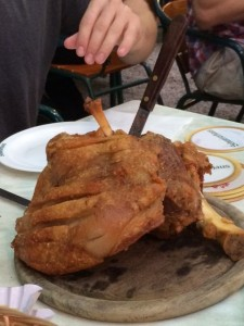 Pork Knuckle in Vienna